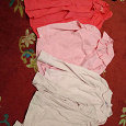Отдается в дар Розовый блузки 7-8 лет