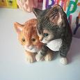 Отдается в дар Статуэтка котики на реставрацию