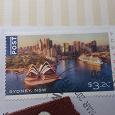 Отдается в дар Почтовая марка Австралии