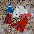 Отдается в дар шапки\шарфы детские