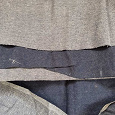 Отдается в дар Ткань джинсовая для пошива одежды