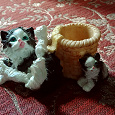 Отдается в дар Подставка «Котики»