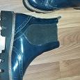Отдается в дар Ботинки лаковые с резинкой 39 размер