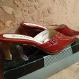 Отдается в дар Туфли женские без задников на высоком каблуке 37 размер.