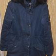 Отдается в дар Куртка-парка удлиненная 40-42 размер