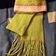 Отдается в дар Комплект: шапка, шарф.