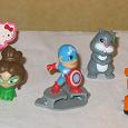 Отдается в дар Мелкие фигурки-игрушки