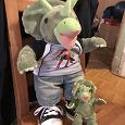 Отдается в дар Мягкая игрушка Динозавр и его друг