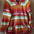 Отдается в дар Яркий свитер Перу