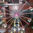 Отдается в дар Лего колесо обозрения, механическое