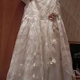 Отдается в дар Платье новогоднее рост 122-128