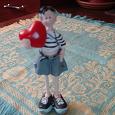 Отдается в дар статуэтка мальчик (тинейджер) с сердцем