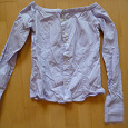 Отдается в дар Блуза- рубашка, 40+