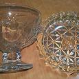 Отдается в дар Тарелки и вазы стекло хрусталь