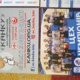 Отдается в дар карманные календарики на спортивную тему Львов, 2 шт