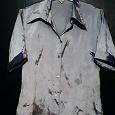 Отдается в дар Сиреневая блузка 46 размера