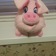 Отдается в дар мягкая игрушка упаковка для конфет свинка
