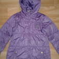 Отдается в дар Лёгкая демисезонная куртка для девочки 9-11 лет