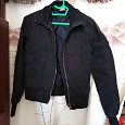 Отдается в дар Курточка черная XS