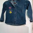 Отдается в дар Детская джинсовая курточка