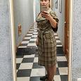 Отдается в дар Платье осеннее 48 размер