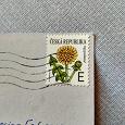 Отдается в дар Почтовая марка Чехии