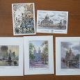 Отдается в дар Открытки сувенирные с видами Санкт-Петербурга