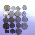 Отдается в дар Иностранные монеты и жетон