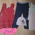 Отдается в дар Большой пакет одежды для девочки 2-5 лет