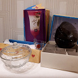 Отдается в дар Посуда: фужеры НГ, стопки СССР, конфетница, пиалки