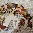 Отдается в дар Набор открыток «Блюда Киргизской кухни»