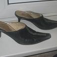 Отдается в дар Кожаные туфли р-р 38