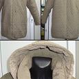 Отдается в дар Куртка тёплая стёганая 2-х сторонняя.Размер 52.Б/У.