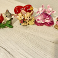 Отдается в дар Сувениры фигурки: котики, мышки, свинки