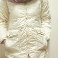 Отдается в дар Куртка пальто белая 44р