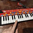 Отдается в дар Музыкальное пианино детское
