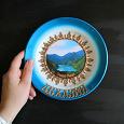 Отдается в дар Декоративная тарелка Абхазия