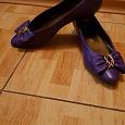 Отдается в дар Туфли р.36 фиолетовые