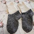 Отдается в дар вязаные носочки на 7-лет