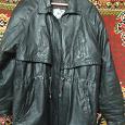 Отдается в дар Куртка кожаная женская чёрная, длинная, или полу-пальто