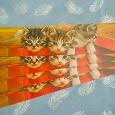 Отдается в дар Закладки с котиками от телеканала «Домашние животные»
