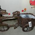 Отдается в дар Декоративное кашпо «Велосипед»