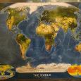 Отдается в дар Постеры Карты Мира 5 штук (5 фото)