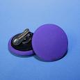 Отдается в дар Клипсы круглые фиолетовые