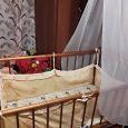 Отдается в дар кроватка детская-качалка