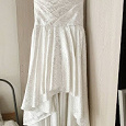 Отдается в дар Платье невесте со шлейфом.