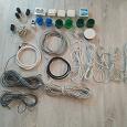 Отдается в дар Электрика: кабеля, розетки и другое