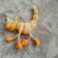 Отдается в дар Брошь Кошка