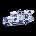 Отдается в дар Сувенир Гжель «Пожарная машина»