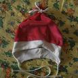 Отдается в дар Велюровая шапочка на девочку